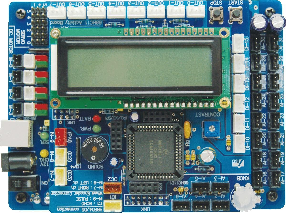 Микроконтроллеры motorola 1